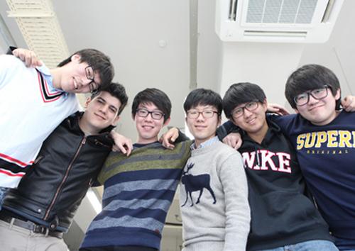 왼쪽부터 곽재원, 비센떼 아돌포 볼레아 산체스, 김태훈, 유인완, 김민규, 김승회