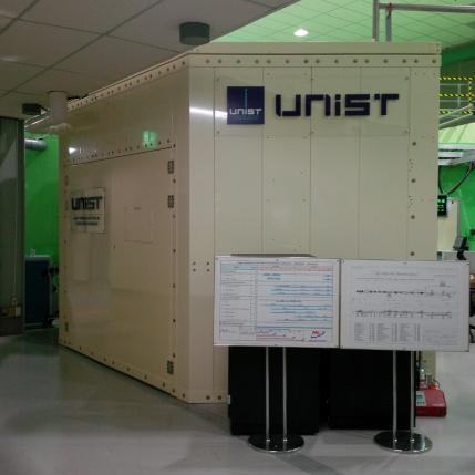 The UNIST-PAL Beamline, constructed and located at Pohang Light Source (PAL), POSTECH, Korea.