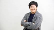 정상영 UNIST 전기전자컴퓨터공학부 석·박사통합과정 연구원이 활짝 웃고 있다. 그는