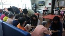 """""""UNIST 학생들이 어루만진 것은 어르신들의 손과 발이 아니라 마음이었습니다"""""""