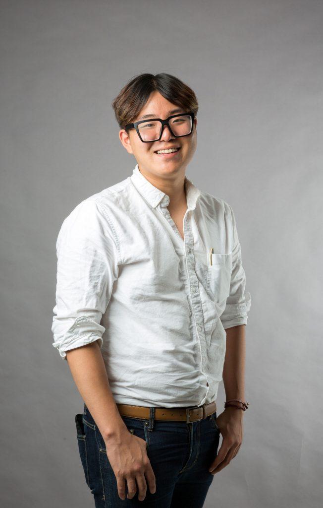 두경서 회장은 UNIST 구성원의 행복한 캠퍼스 생활을 위해 동분서주하는 인물로 유명하다. | 사진: 안홍범