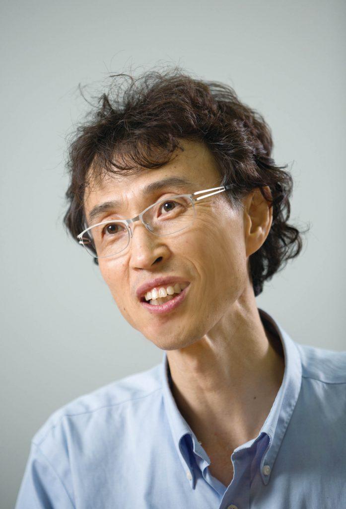 장재성 교수가 드론에 센서를 달아 미세먼지를 관측하는 기술을 소개했다. | 사진: 안홍범