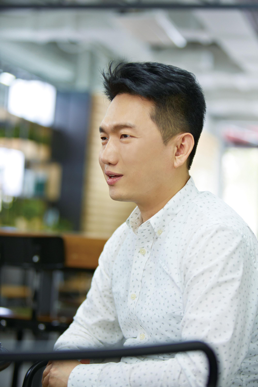 최영찬 대표가 선보엔젤에 대해 소개하고 있다. | 사진: 안홍범