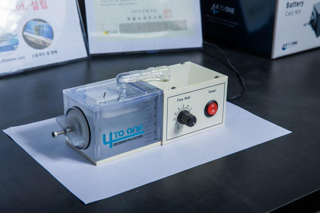 김영식 교수 연구팀이 교육 및 연구 목적으로 개발한 해수전지 키트
