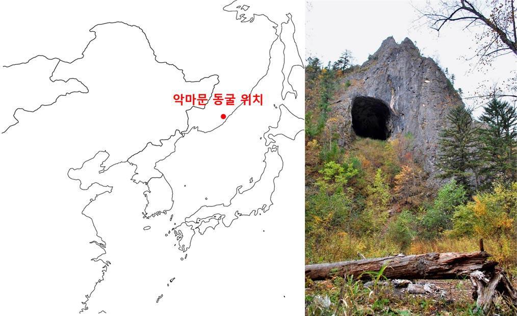 악마문 동굴(영어: Devil's Gate cave, 러시아어: Chertovy vorota)은 한국 역사에서 고구려, 동부여, 북옥저가 자리했던 것으로 알려진 지역에 위치하고 있다.