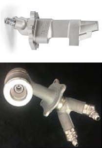 그림 1. 미국 GE의 3D 프린팅 항공기용 엔진 부품
