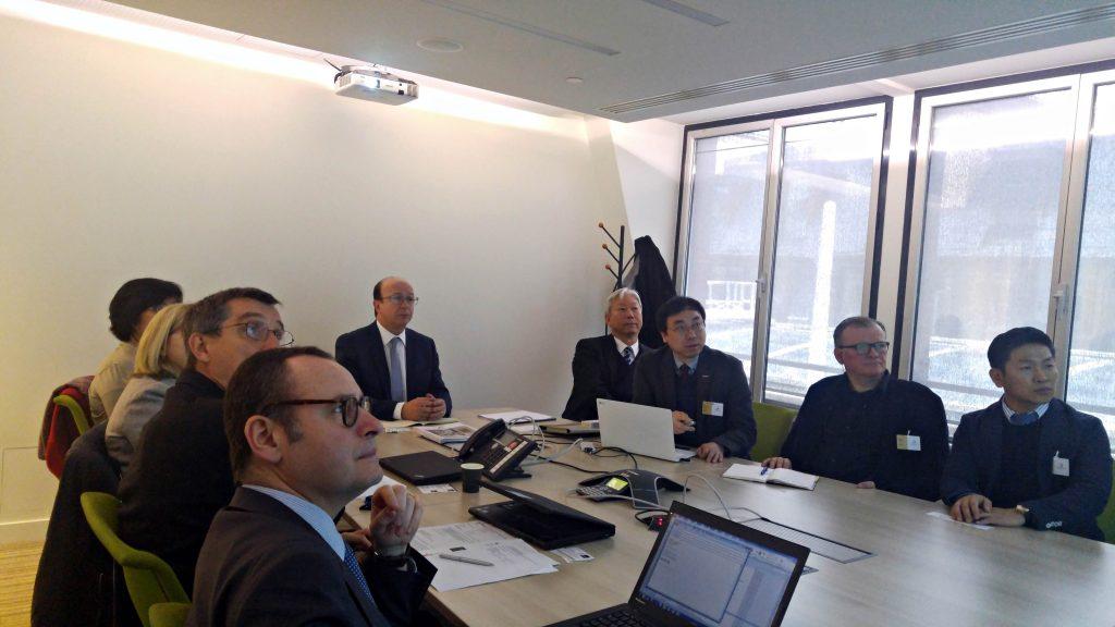 글로벌 TOP 3 제약회사 사노피를 방문해 상호 협력 방안에 관해 의견을 교환했다.