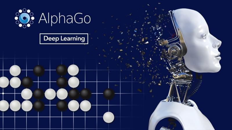 인공지능 바둑 기사 알파고가 세계 최정상 바둑기사에게 이기는 비결은 딥 러닝 기술에 있다. | 디자인: 박혜지