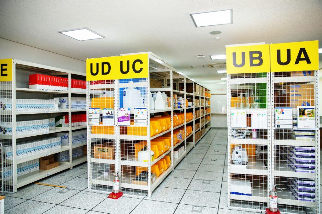 UCDC 내부 전경