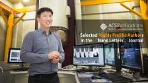 조재필 교수가 이차전지 연구센터(111동)에서 활짝 웃고 있다. UNIST는 이차전지 분야를 선도하는 연구기관으로 평가받는다.  사진: 김경채