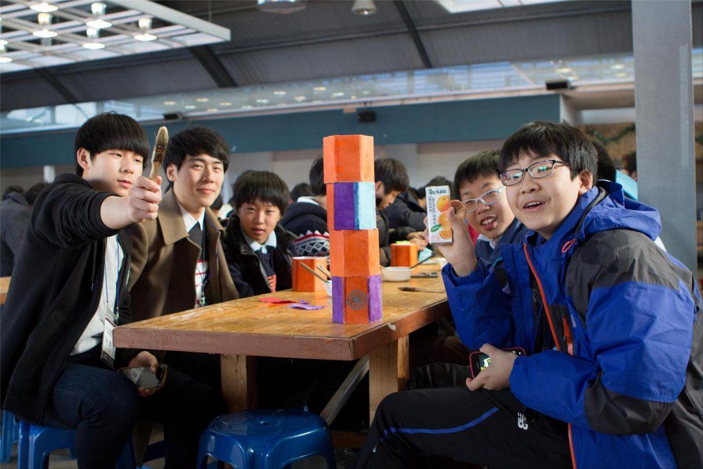 과학영재 멘토링 주말형 참여 멘티 학생들