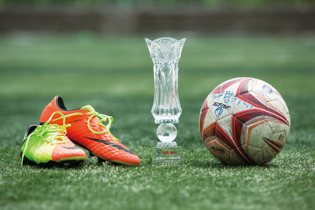 지구방위대는 '제1회 희망 곡성군수기 전국대학동아리축구대회'에서 3위에 오를 정도로 실력을 인정받았다. | 사진: 안홍범