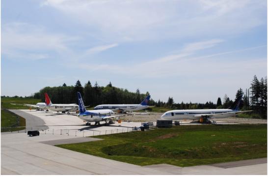 보잉 사에서 볼 수 있는 비행기의 모습. | 사진: 조은채 제공