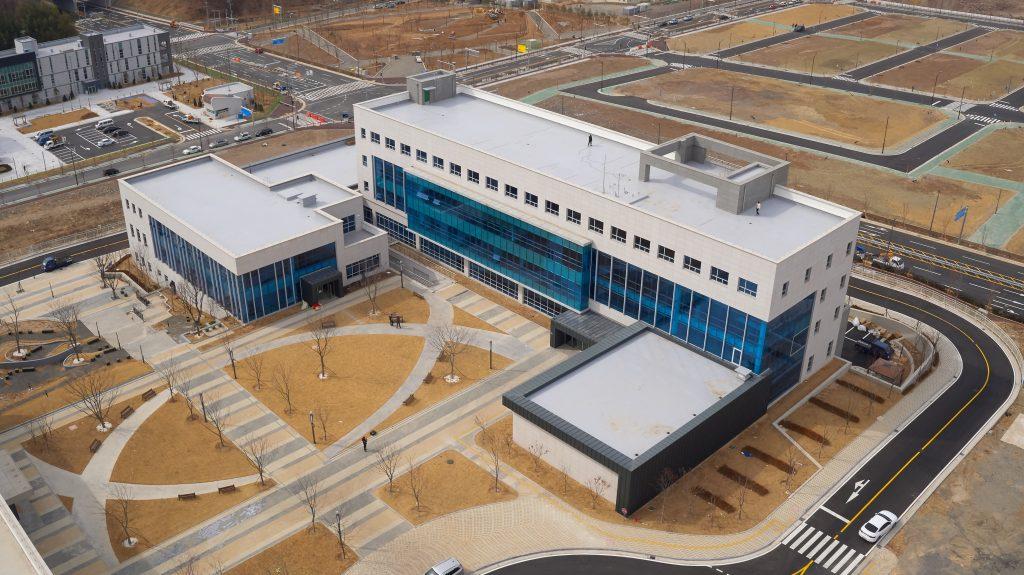 산학융합캠퍼스는 남구 두왕동 울산산학융합지구에 위치해있다. | 사진: 김경채