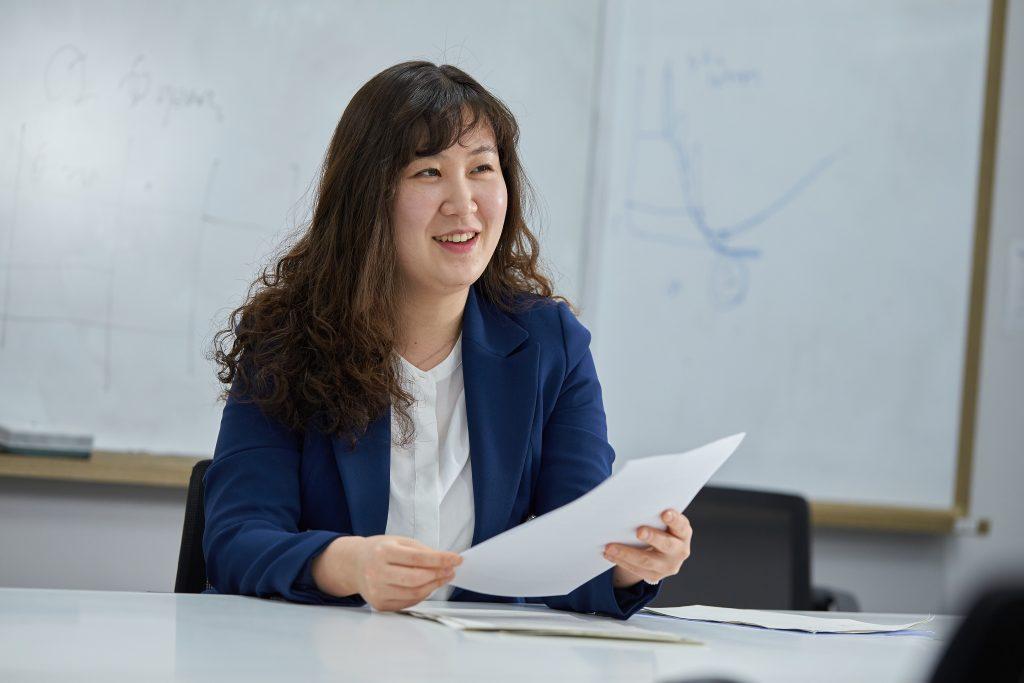 이효정 박사는 이창형 교수의 첫 제자다. 전염병 분석에 대한 수학 모델 연구를 함께 수행해왔다. | 사진: 김경채