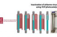 순식간에 공기 중 바이러스 죽이는 공기청정기술
