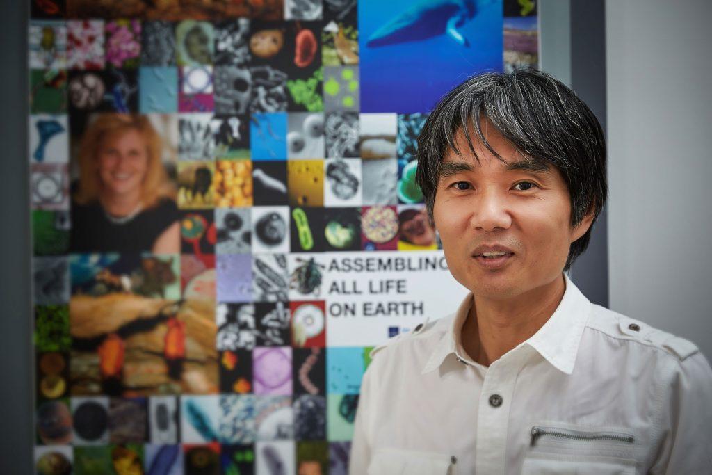 박종화 게놈산업기술센터장은 UCSD와의 연구협력을 추진하고 있다 | 사진: 김경채