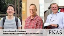 왼쪽부터 카이 로우 IBS 첨단연성물질 연구단 연구위원, 스티브 그래닉 특훈교수, 프랑소와 암블라흐 교수