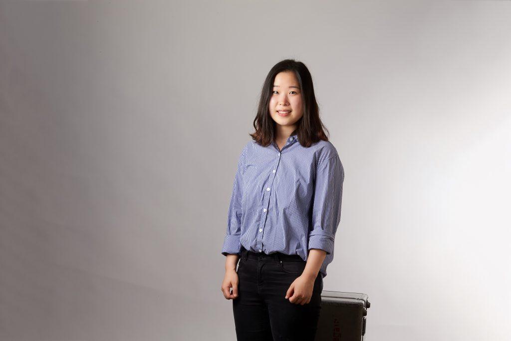 김도연 학생은 어린 시절부터 지구과학을 좋아했다. 오랫동안 좋아하는 학문을 연구하는 게 그녀의 꿈이다. | 사진: 김경채