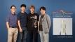 투명 지문 센서를 개발한 UNIST 연구진의 모습. 왼쪽부터 변영재 교수, 지상윤 연구원, 안병완 연구원, 박장웅 교수. | 사진: 김경채