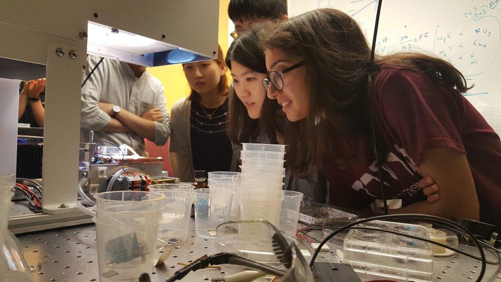 학생들은 6월 25일(월)부터 7월 3일(화)까지 하버드 공대에 머무르며 태양전지 관련 강의를 듣고, 실험을 진행했다.