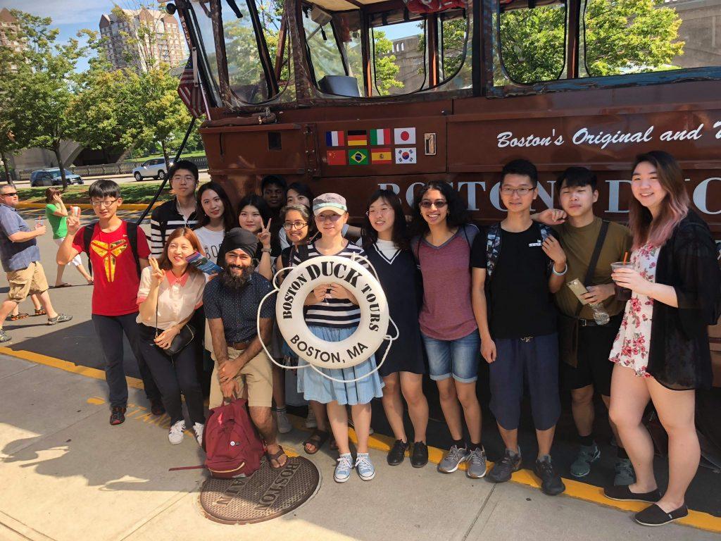 학생들은 하버드에서 보스턴 덕 투어(Duck Tour)등 문화체험도 진행했다.