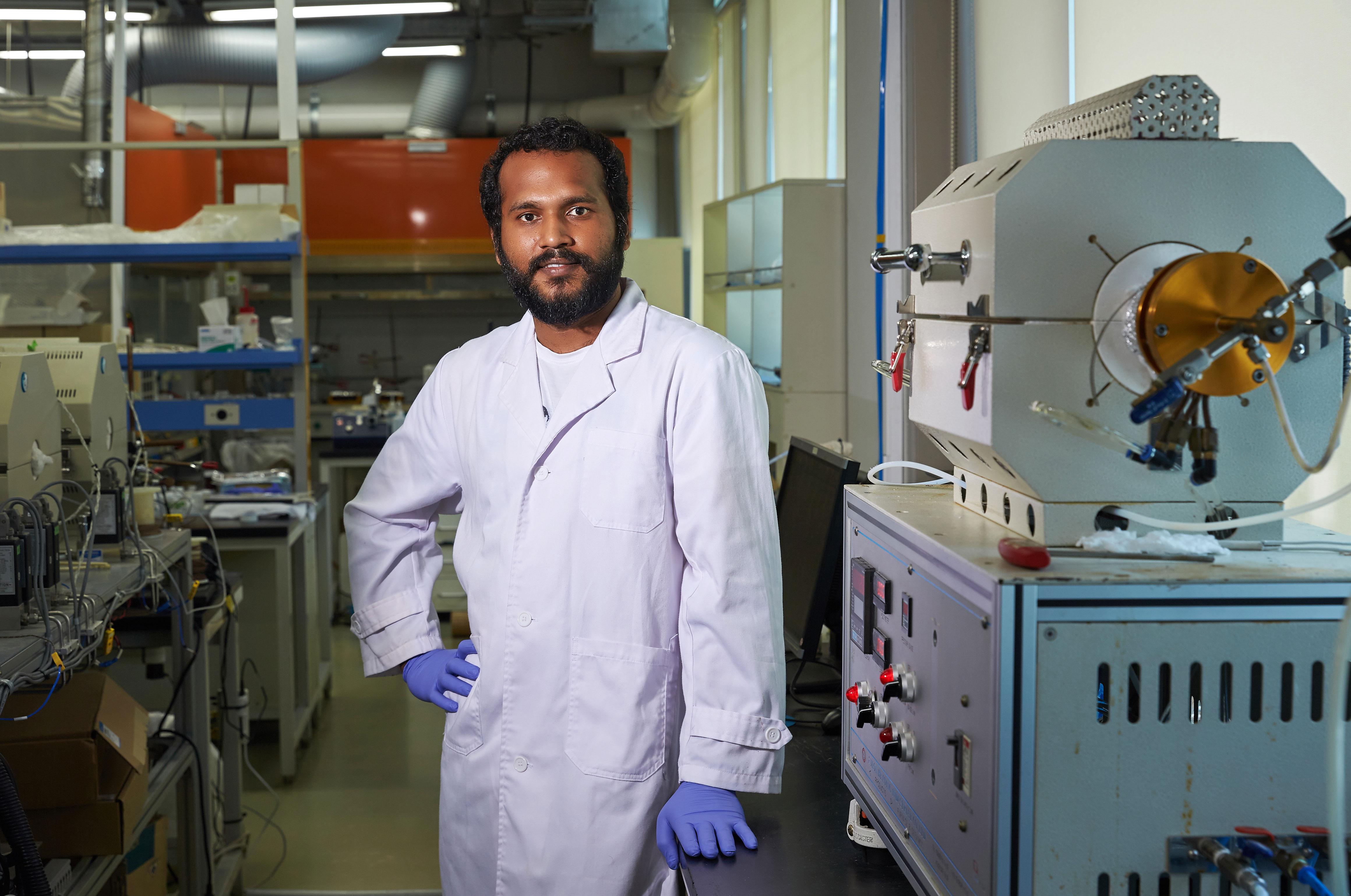 생고단 박사는 10월부터 임페리얼 칼리지 런던에서 근무하게 된다. | 사진: 김경채