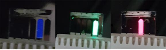 용액 공정으로 제작한 페로브스카이트 나노 입자를 이용해 만든 LED 소자