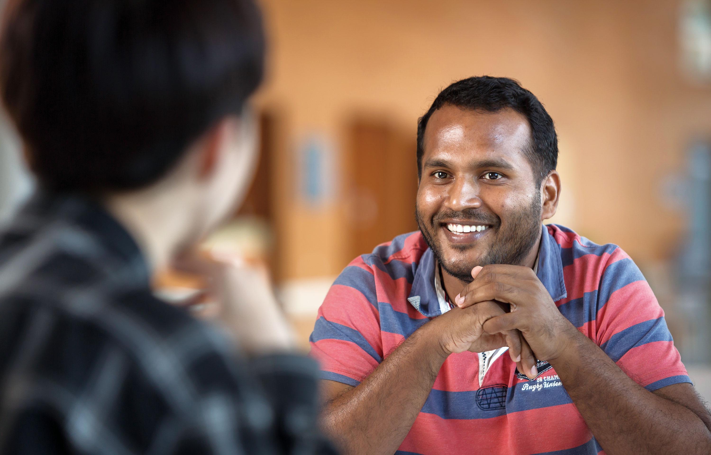 생고단 박사는 인도에서 석사학위를 받고 유학을 준비하던 중 UNIST를 만났다. | 사진: 안홍범