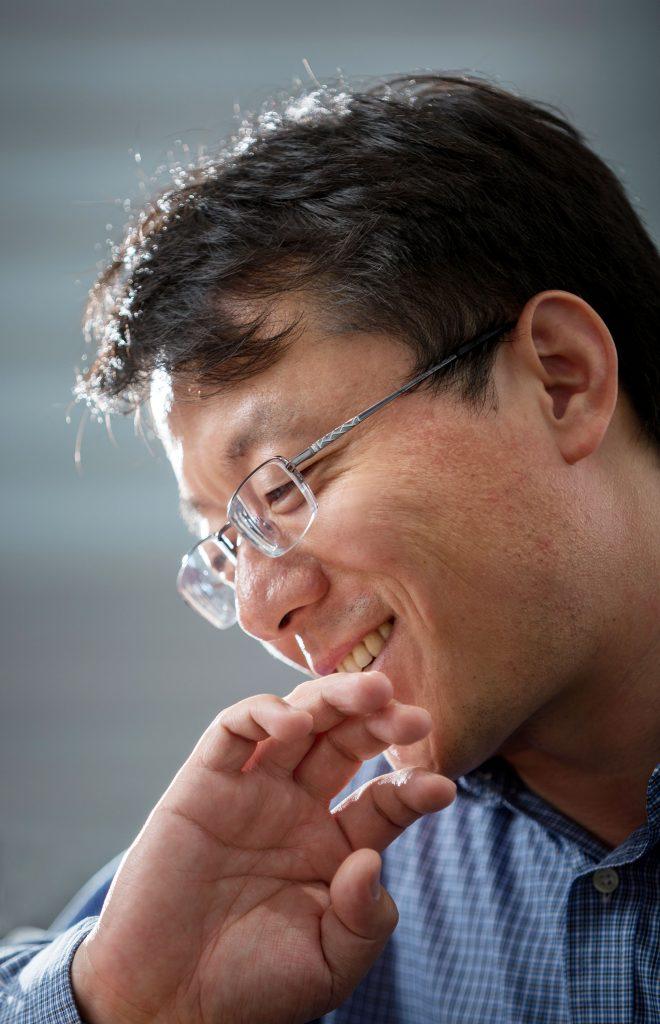 펑 딩 교수의 미소. | 사진: 안홍범