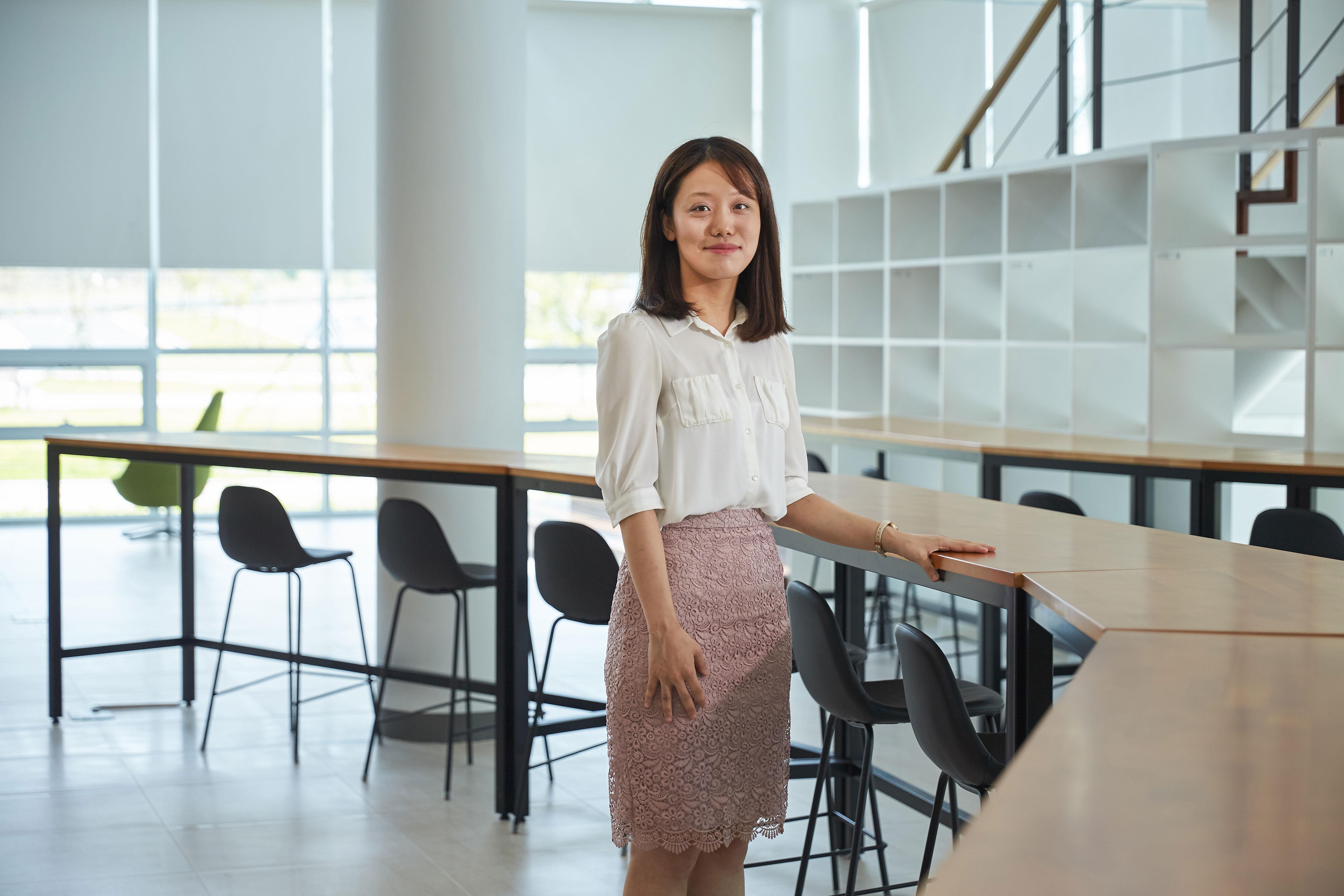 산학융합캠퍼스에서 백수정 박사를 만났다. | 사진: 김경채