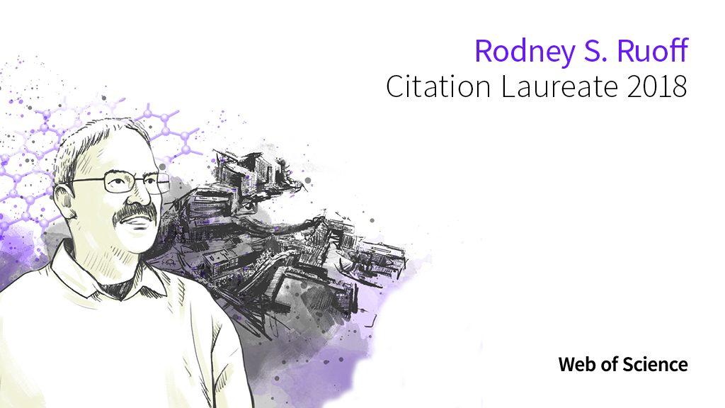 로드니 루오프 교수가 2018 피인용 우수 연구자로 선정됐다. 웹 오브 사이언스 기반의 분석 결과다. | 클래리베이트 애널리틱스 제공