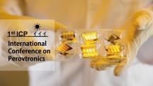 페로브스카이트 물질로 만든 태양전지의 모습. UNIST 페로브트로닉스 연구센터가 17일(수) 첫 번째 국제 컨퍼런스를 개최한다. | 사진: 안홍범