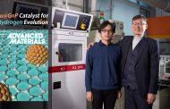 물로 수소 만드는 고효율 '그래핀 촉매' 개발