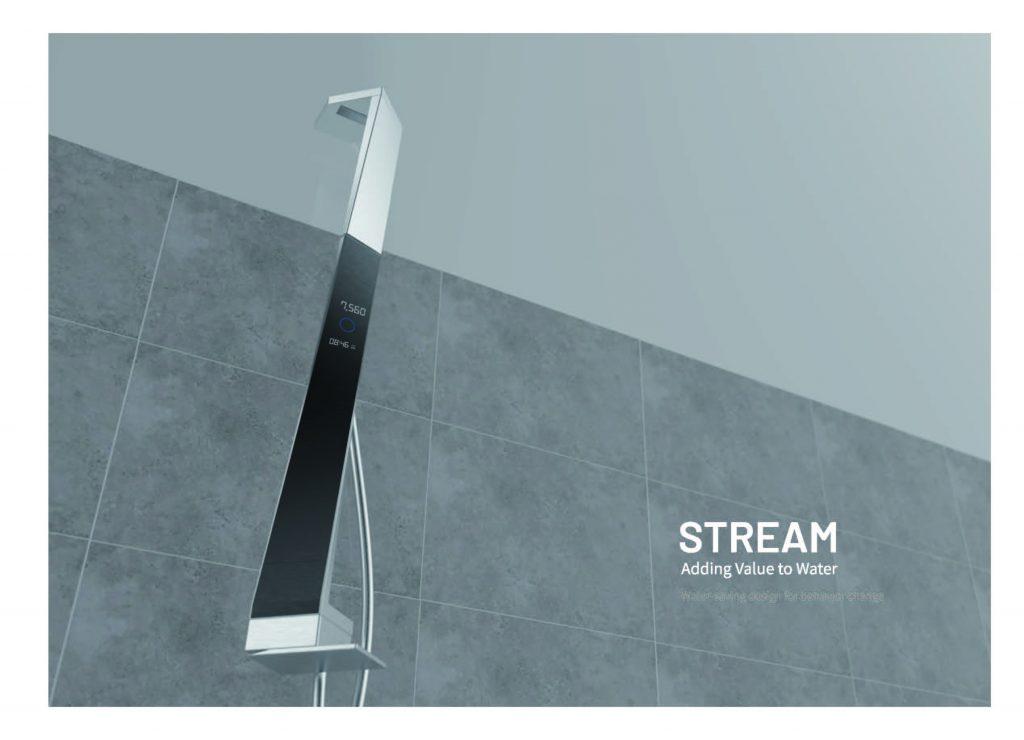 이수민 학생의 물 절약을 유도하는 샤워기 디자인. | 사진: 디자인 및 인간공학부
