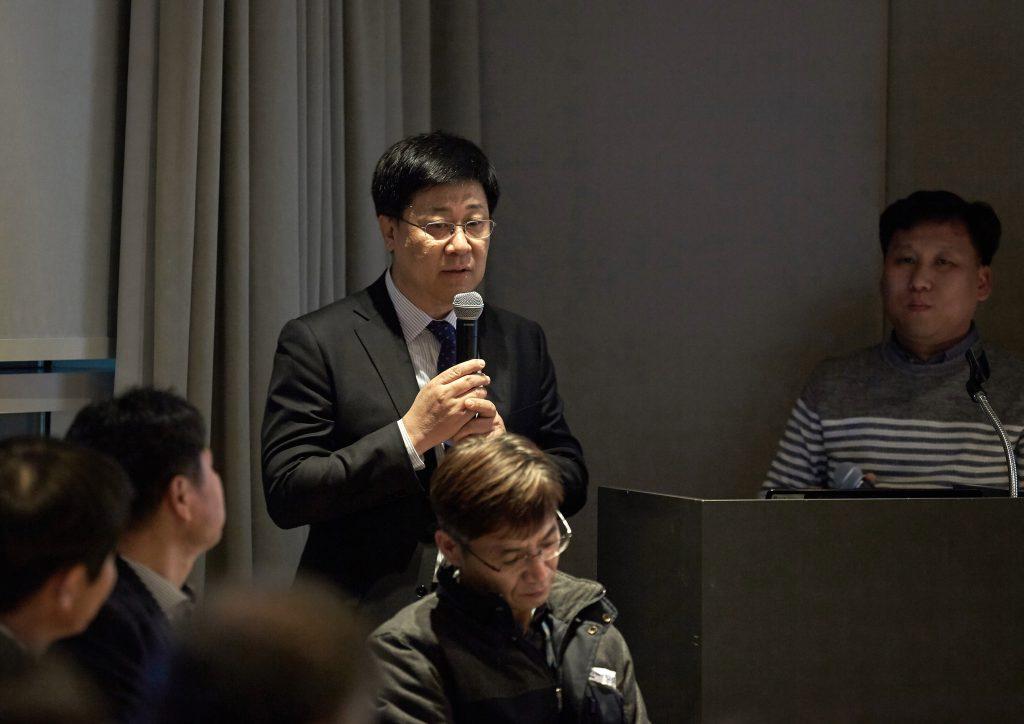 최영록 기술경영전문대학원장이 프로젝트의 취지와 향후 계획의 밝히고 있다. | 사진: 김경채