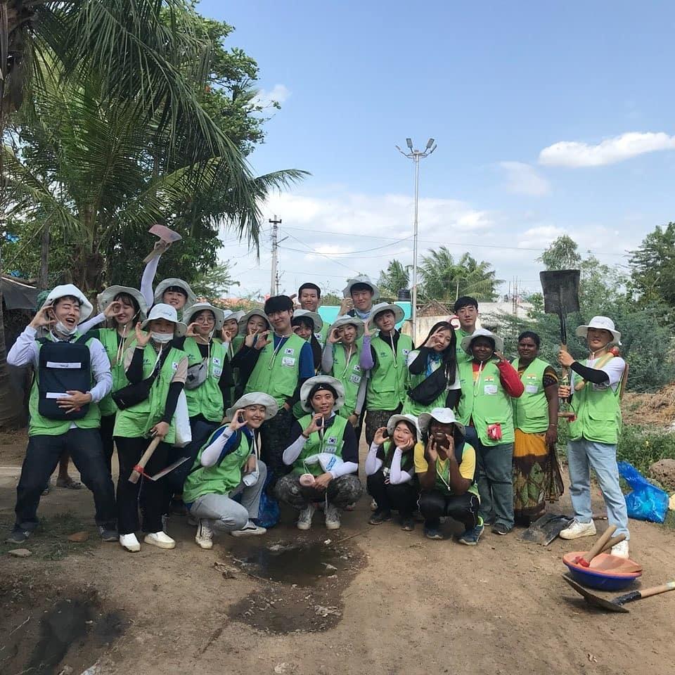 인도에서의 봉사활동 경험은 김시화 학생에게 큰 동기부여가 됐다. | 사진: 김시화