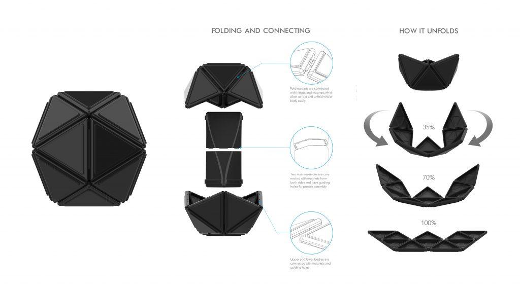 아이볼롯이 제안한 새로운 디자인 콘셉트.