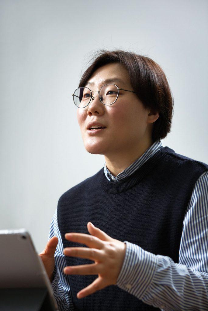 김은희 교수는 유전 변이를 이용한 암 치료 연구에 나섰다. | 사진: 안홍범