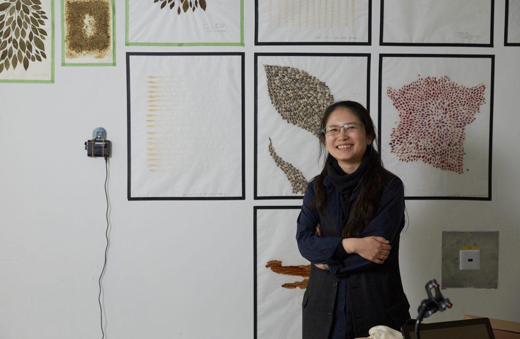 김순임 작가는 자연주의 미술의 연장선에서 레지던시 프로젝트를 진행했다. 일상과 먹고 사는 것이 바로 예술의 재료가 된 것이다. | 사진: 김경채