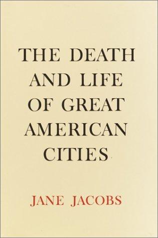제인 제이콥스의 명저 '미국 도시의 삶과 죽음' 표지
