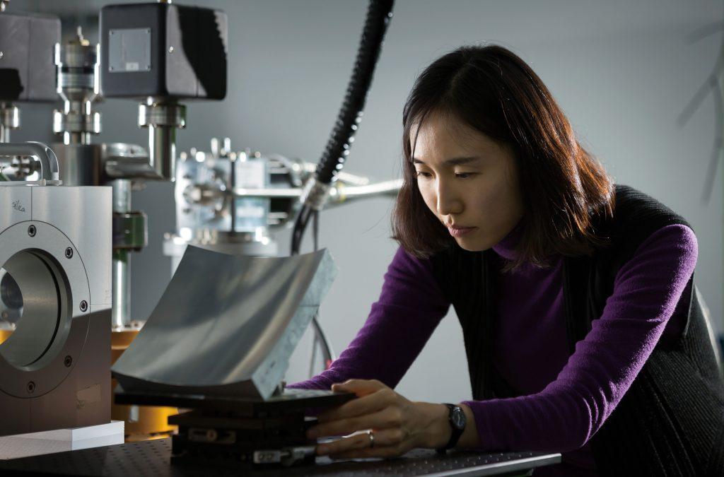 최은미 교수 연구실은 방사능 검출 뿐 아니라 핵융합, 정보통신 분야 등 다양한 연구분야를 망라한다. | 사진: 안홍범