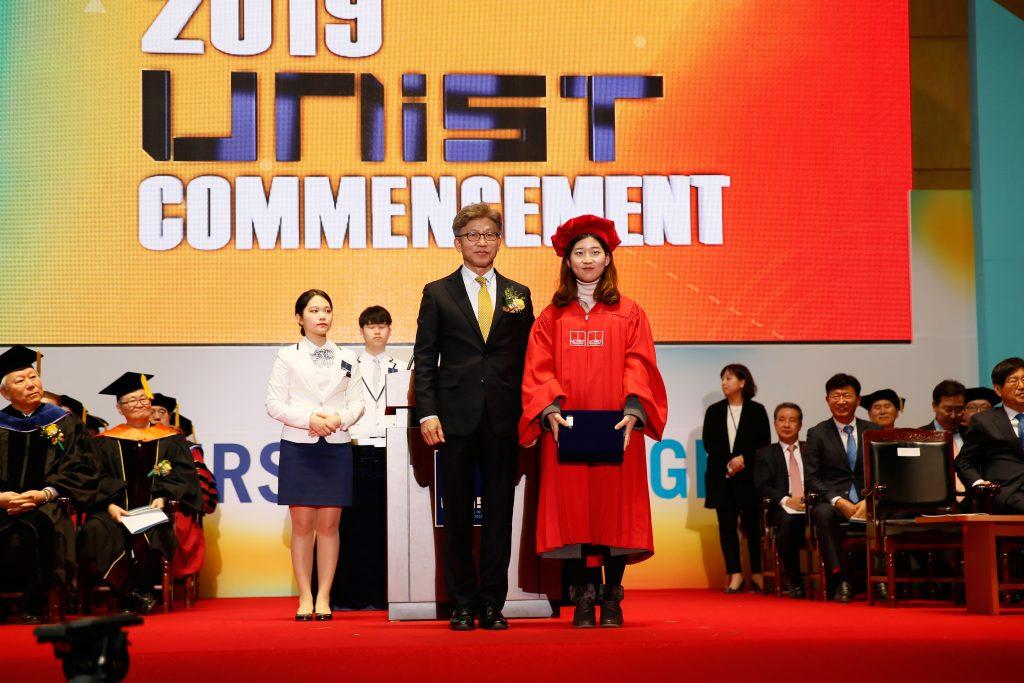 서다혜 학생이 울산광역시장상을 받았다. | 사진: 김경채