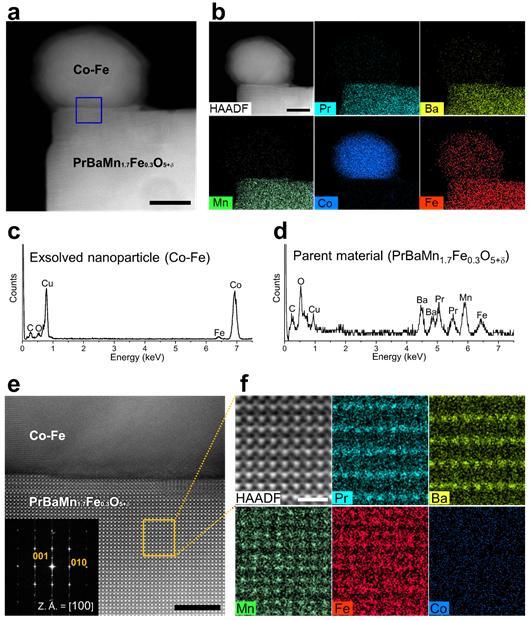 이온 위치 교환 현상(Topotactic Ion Exchange) 투과전자현미경(TEM) 분석 결과