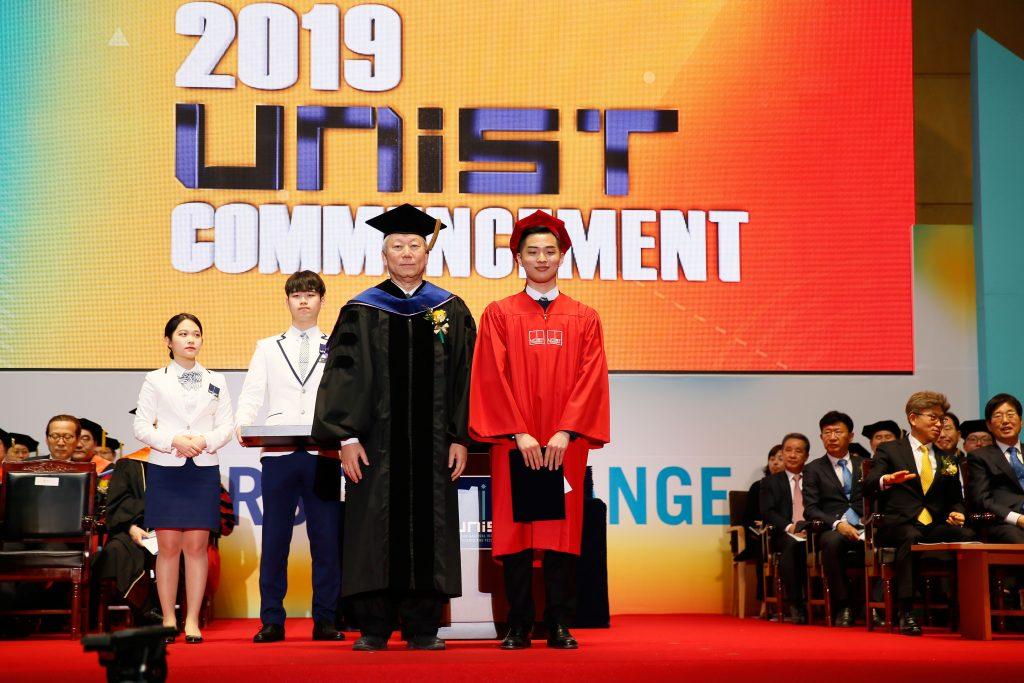 한상우 경영공학부 학생이 LS그룹상을 수상했다. | 사진: 김경채