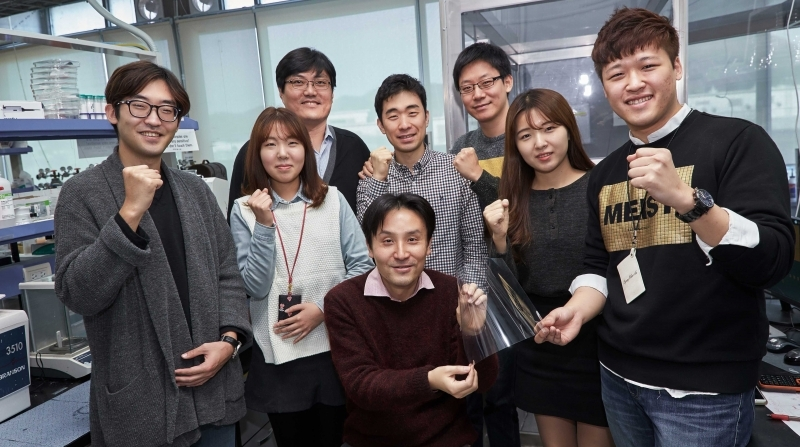 The Wearable Heater with Transparent Electrodes is Now Real at UNIST