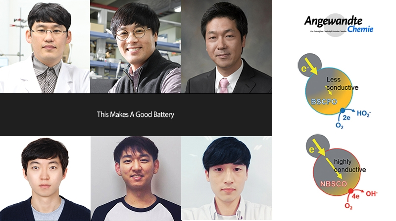 Development of High Performance Battery with High Conductive Catalyst