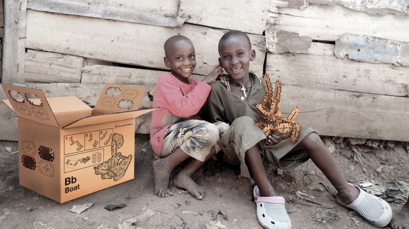 The prototype Toy Box, designed at UNIST is made for the world's most disadvantaged.