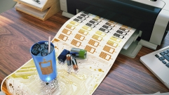 Engineering All-Inkjet-Printed Flexible Batteries on Paper