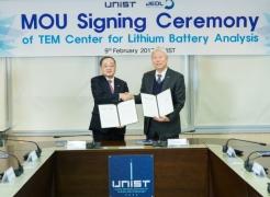 UNIST Brings Breakthrough in Li-ion Battery Technology